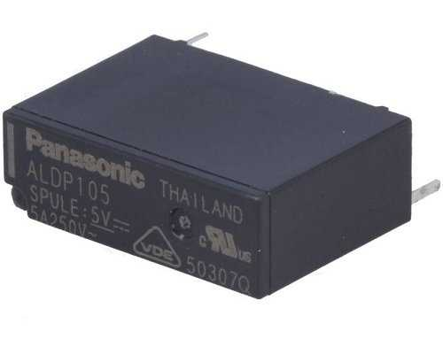 5A 5V 1a Panasonic Röle - ALDP105W