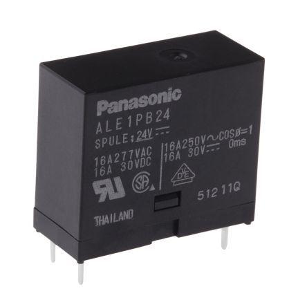 ALE1PB24 24VDC 16A 1P Panasonic Röle