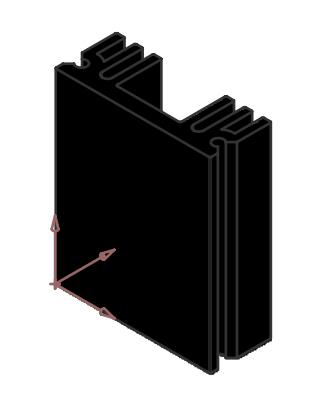 Alüminyum Soğutucu - 11.50x25.00x29.00mm