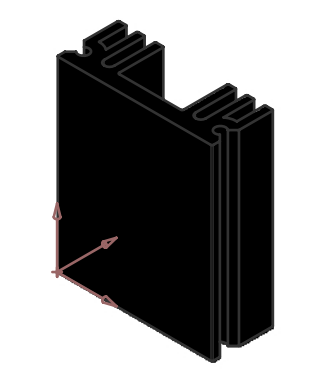 Alüminyum Soğutucu - 11.50x30.00x29.00mm