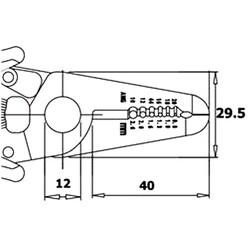 Antistatik Kablo Soyucu CSP.30.2D - Thumbnail