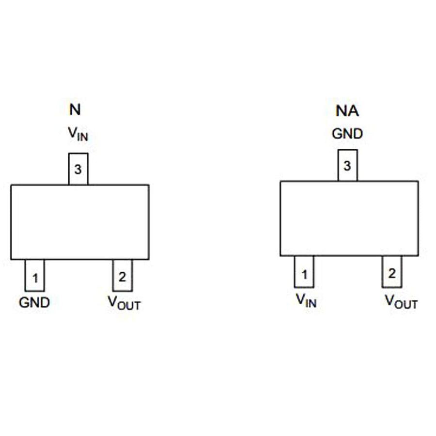 AP2120N 3.3V 150mA Smd LDO Regülatör SOT23-3