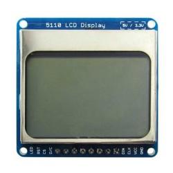 Arduino 1.6 inç Nokia 5110 Lcd Ekran - Thumbnail