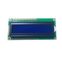 2x16 Lcd Ekran Sol Üst - Sol Alt - Mavi - BJ1602A2 - Thumbnail