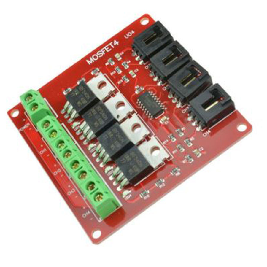 Arduino 4 Kanal IRF540 Mosfet Modülü