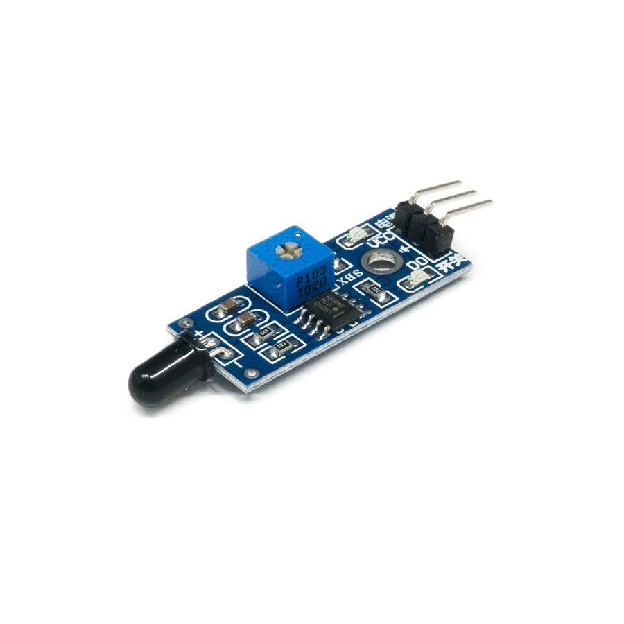 Arduino Alev Algılama Sensörü Modülü (Kızılötesi)