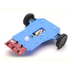 Arduino Basit Çizgi İzleyen Robot Kiti - Arduline (Demonte) - Thumbnail