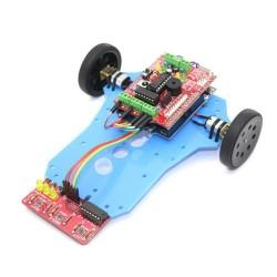 Arduino Basit Çizgi İzleyen Robot Kiti - Arduline - Thumbnail