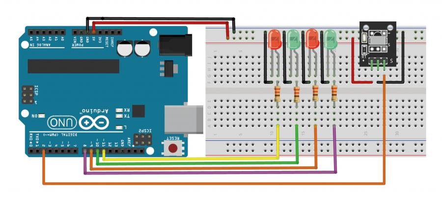 Arduino Kızılötesi Sensör