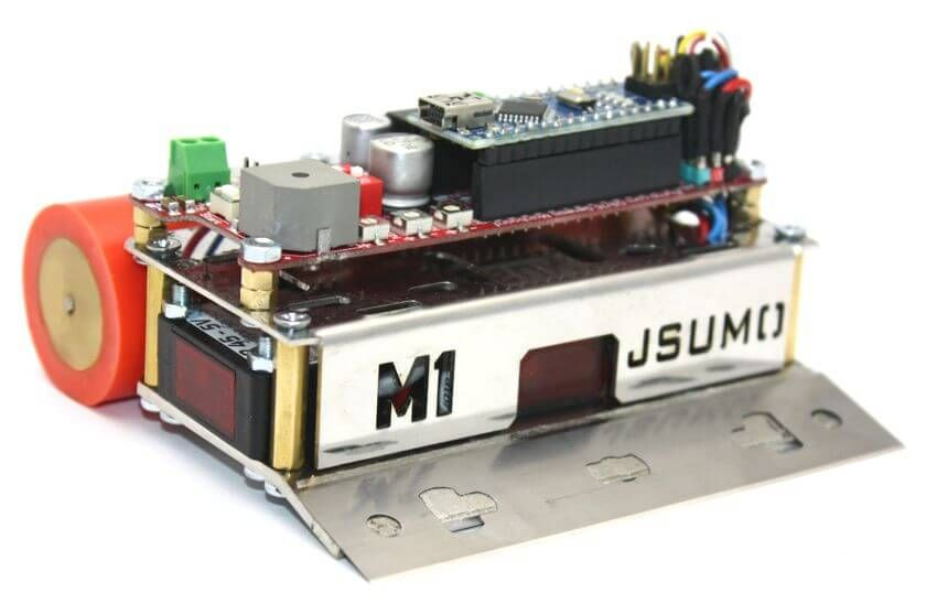 Sumo Robot Kit Mini Sumo Bot Kit - Active Robots
