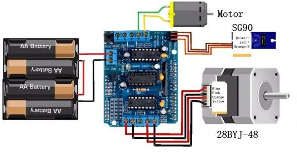 Arduino Motor Shield - L293D