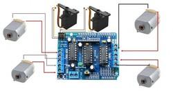 Arduino Motor Shield - L293D - Thumbnail