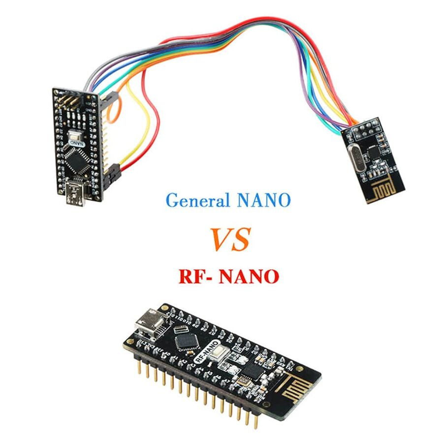 Arduino Nano NRF24l01 + 2.4G Board V3.0