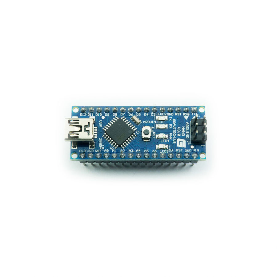 Arduino Nano Klon - USB CH340 Chip (USB Kablo Dahil)