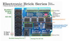 Arduino Uno Sensör Shield V4.0 - Thumbnail