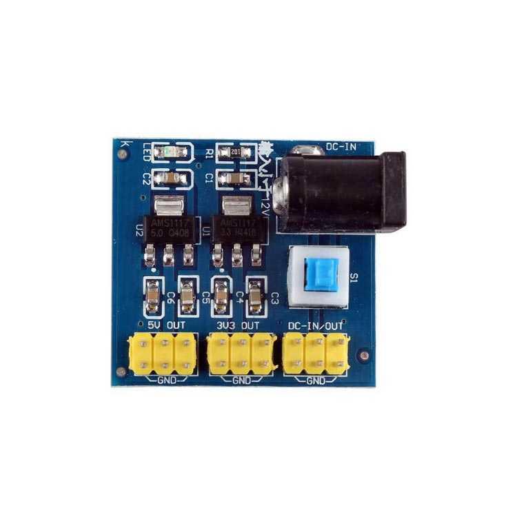 6-12V - 3.3-5.5V Arduino Step Down DC DC Çevirici
