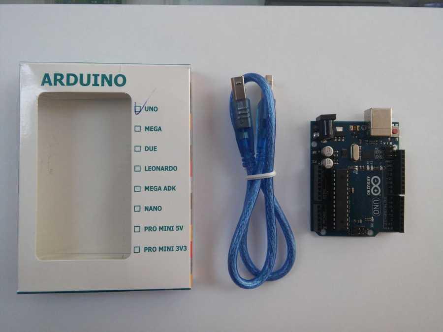 Arduino Uno R3 Dip CH340 Chipset - Klon (USB Kablo Dahil)