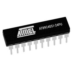 AT89C4051-24PU 8-Bit 24MHz Mikrodenetleyici DIP-20 - Thumbnail