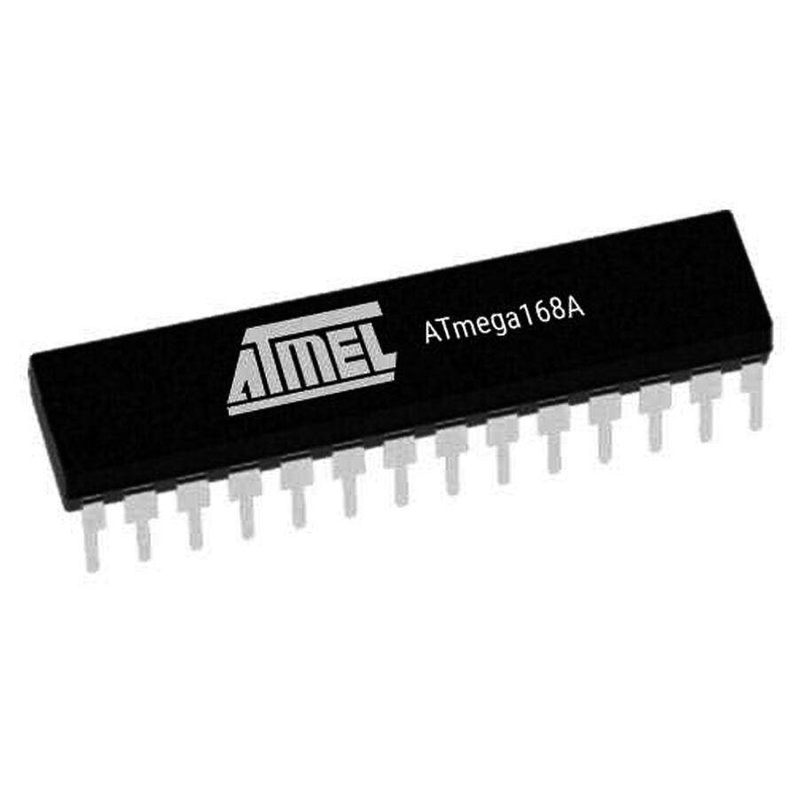 ATMEGA168A PU 8-Bit 20MHz Mikrodenetleyici DIP-28
