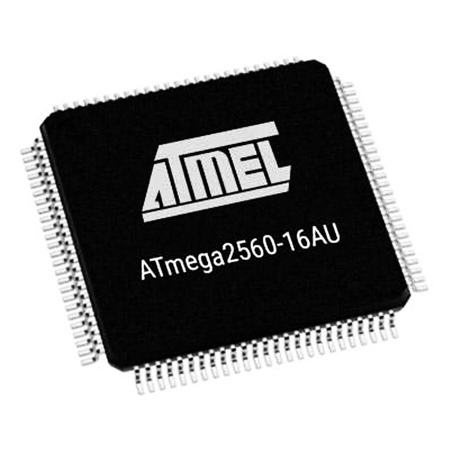 ATMEGA2560-16AU SMD 8-Bit 16MHz Mikrodenetleyici TQFP-100