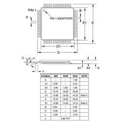 ATMEGA2561-16AU 8-Bit 16Mhz Smd Mikrodenetleyici TQFP64 - Thumbnail
