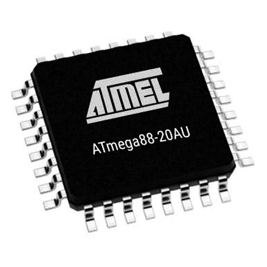 ATMEGA88-20AU SMD 8-Bit 20MHz Mikrodenetleyici TQFP-32