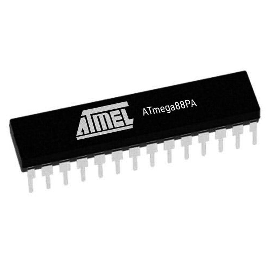 ATMEGA88PA-PU 8-Bit 20MHz Mikrodenetleyici DIP-28