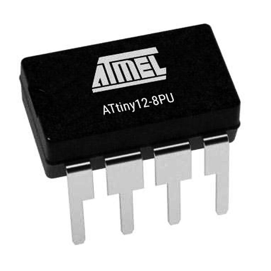 ATtiny12-8PU 8 Bit 8MHz Mikrodenetleyici PDIP-8