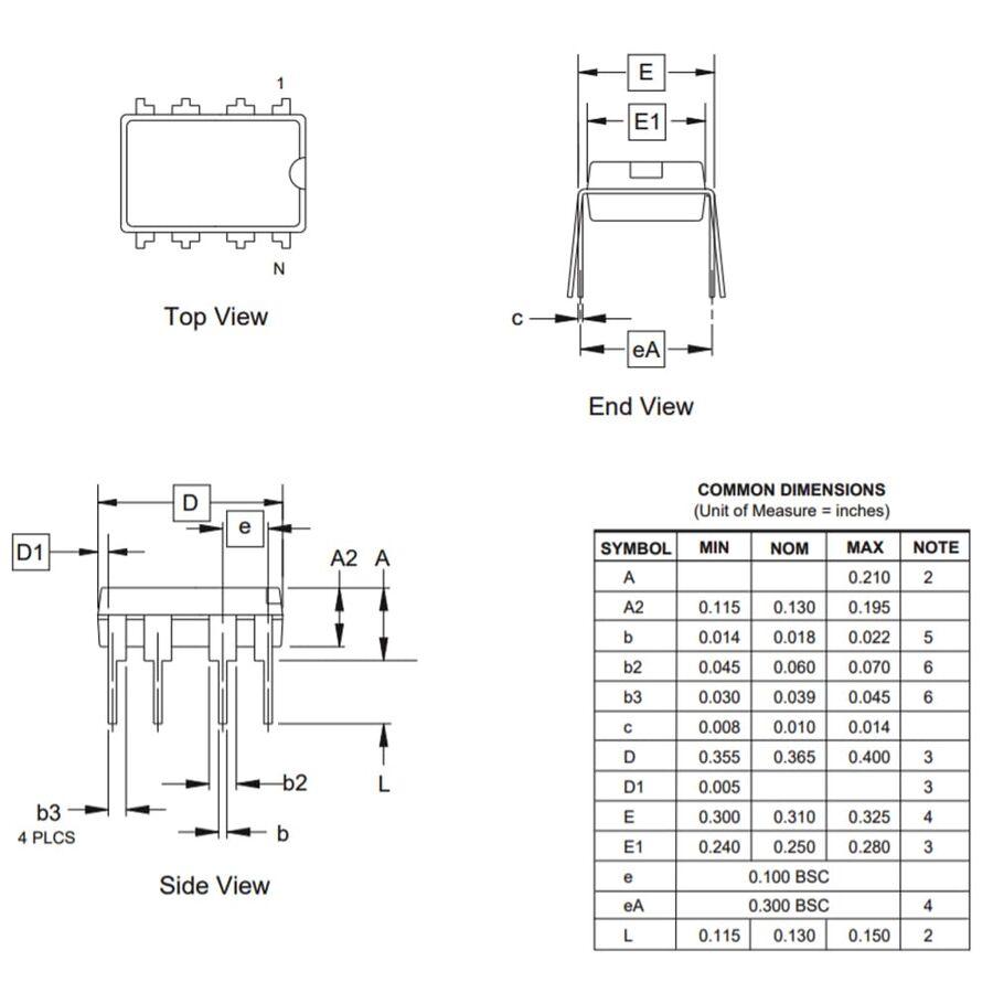 ATtiny13A-PU 8-Bit 20MHz Mikrodenetleyici DIP-8