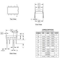 ATtiny13A-PU 8-Bit 20MHz Mikrodenetleyici DIP-8 - Thumbnail