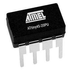 ATtiny45-20PU 8-Bit 20MHz Mikrodenetleyici DIP-8 - Thumbnail