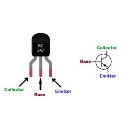 BC547 Transistör Bjt npn TO-92 - Thumbnail