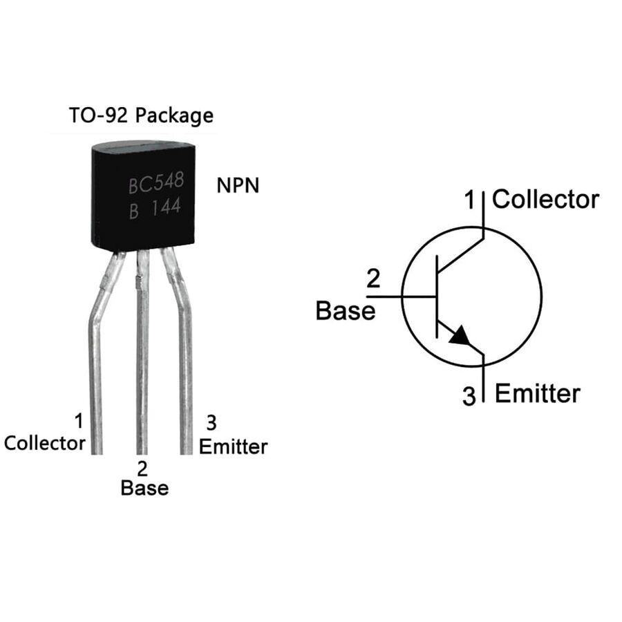 BC548 Transistör Bjt Npn TO-92