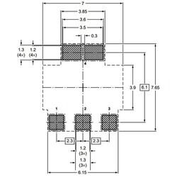 BCP52-16 Pnp Smd Transistör Sot-223 - Thumbnail