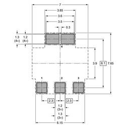 BCP56-16-HT Npn Smd Transistör Sot-223 - Thumbnail