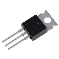 BD243C Transistör Bjt Npn To-220 - Thumbnail