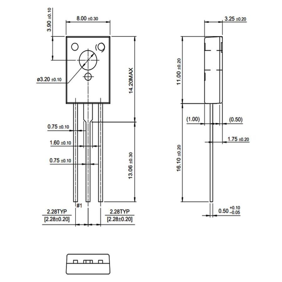 BD435 Transistör Bjt Npn TO-126