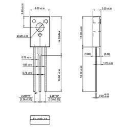 BD435 Transistör Bjt Npn TO-126 - Thumbnail