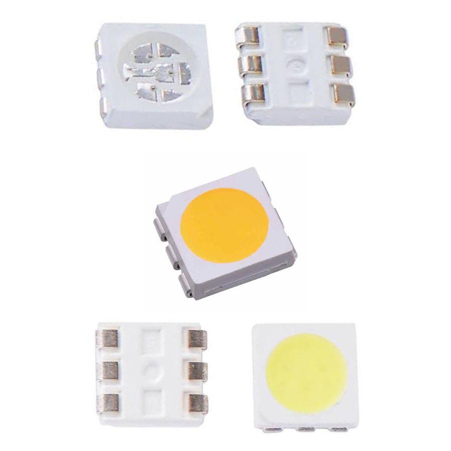 3 Çipli SMD Led - Beyaz