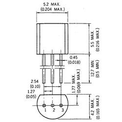 Bf199 Npn Tht Transistör To-92 - Thumbnail
