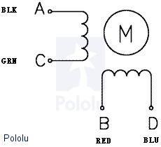 Bipolar Step Motor 200 Adım 35x36mm 2.7V NEMA 14 Pololu - 1209 - Thumbnail