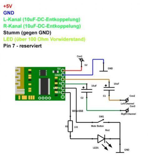 Bluetooth 4.0 Ses Alıcı Modülü - Stereo