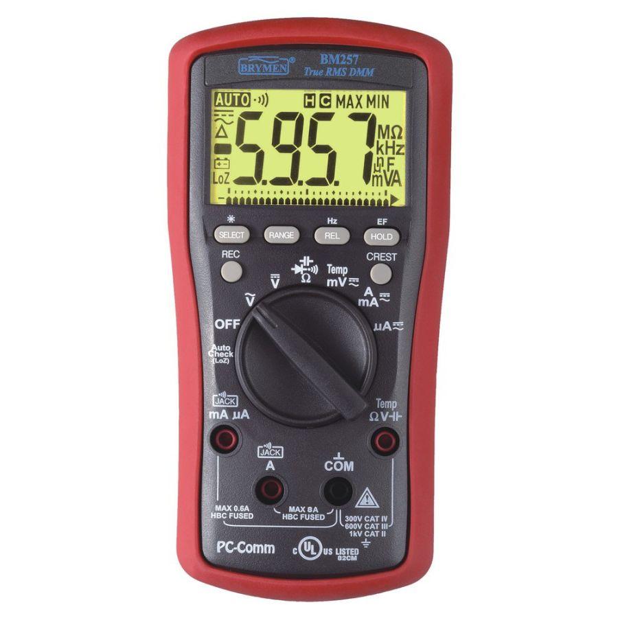 Brymen BM-257 - 6000 Count True RMS Multimetre
