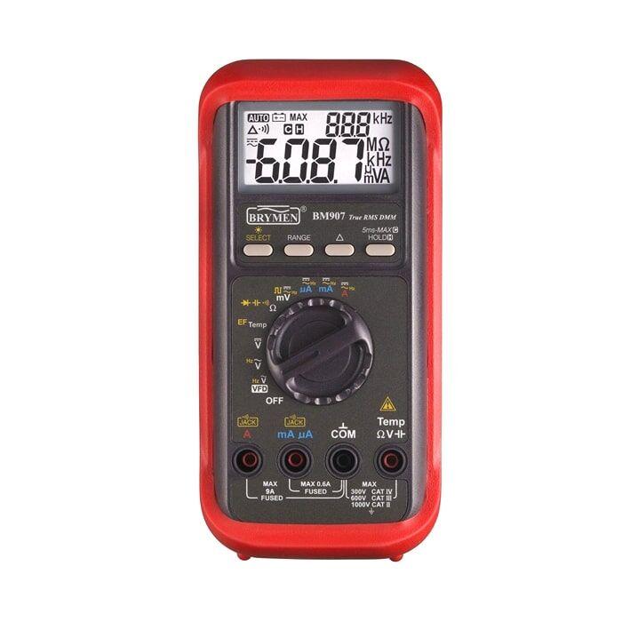 Brymen BM-907S-6000 Count Dijital Multimetre