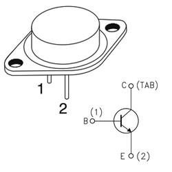 BUX98A Transistör Npn TO-3 - Thumbnail