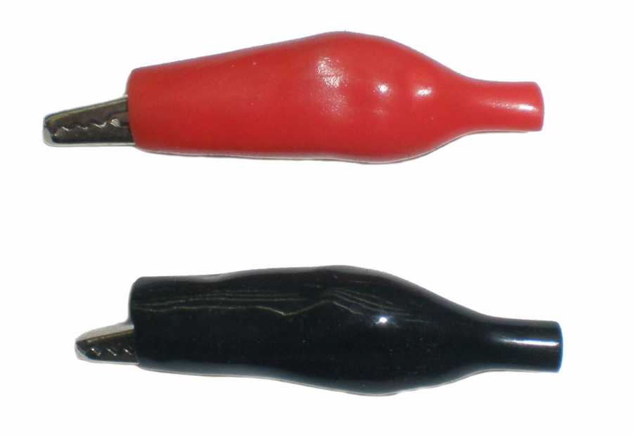 Büyük Krokodil Kıskaç Kablosuz (Kırmızı)