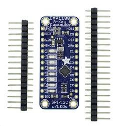 CAP1188 - 8 Anahtarlı Kapasitif Dokunmatik Sensör Breakout Kartı - I2C veya SPI - Thumbnail