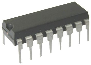 CD4094 DIP-16 Shift Register Entegresi