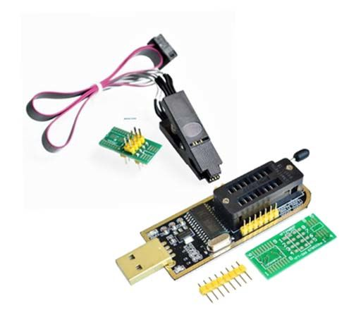 CH341A 24 25 Serisi EEPROM Flaş BIOS USB