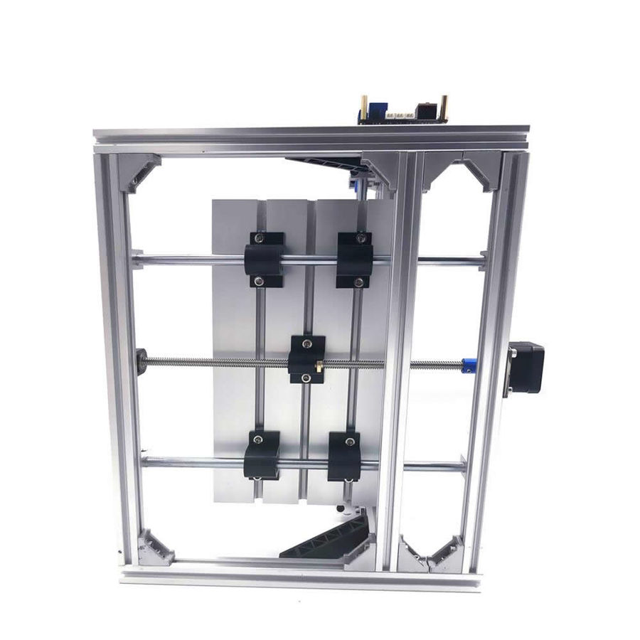 CNC2418 15000mW Lazerli CNC Makinesi - Tezgahı
